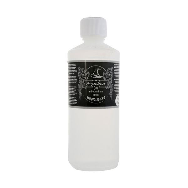 Baza e-Potion 500ml 80VG 20PG de pe e-potion.ro