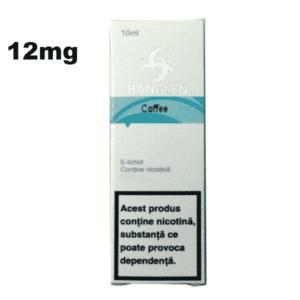 Lichid tigara electronica cu nicotina Hangsen Coffee 12mg 10ml