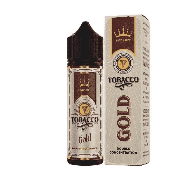 Lichid Tigara Electronica Kings Dew 0mg 30ml Tobacco Gold de pe e-potion.ro