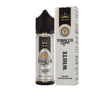 Lichid tigara electronica Kings Dew 0mg 30ml Tobacco White
