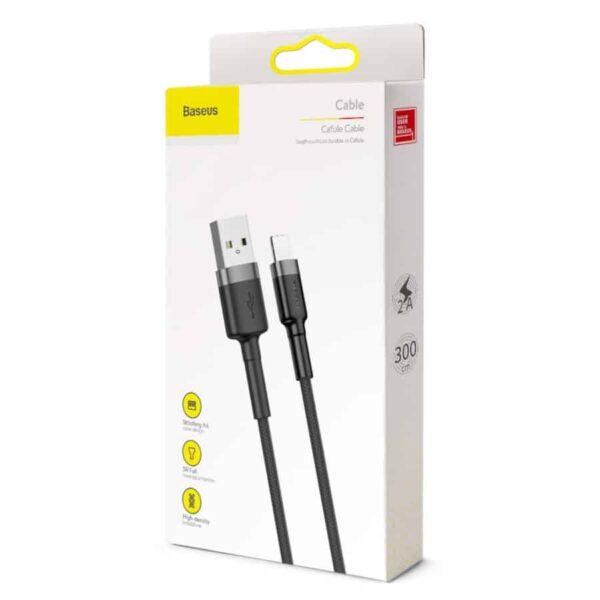 Cablu USB Baseus Lightning 2A 3m