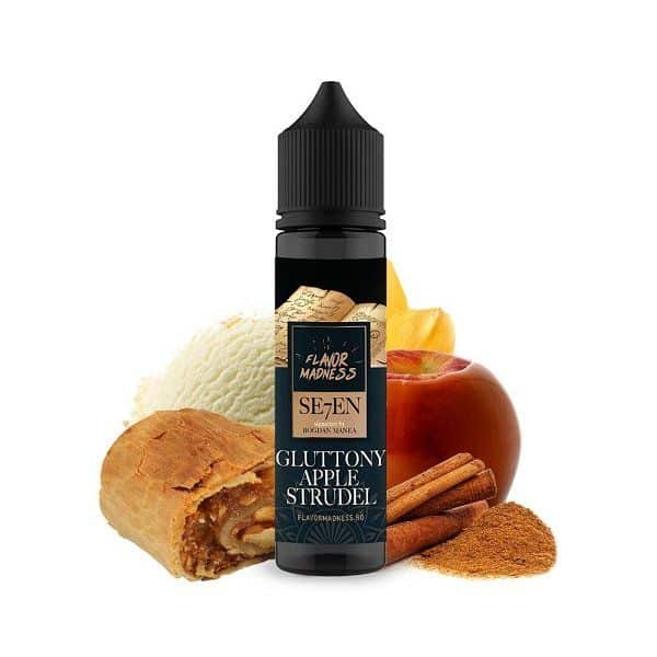 Lichid Flavor Madness 30ml - Gluttony Apple Strudel