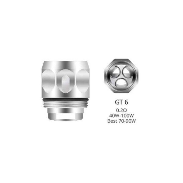 Rezistenta Vaporesso GT6 0.2 ohm de pe e-potion.ro