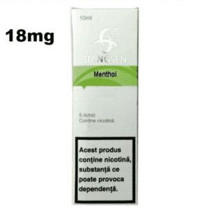 Lichid Tigara Electronica Hangsen Menthol 18mg 10ml de pe e-potion.ro