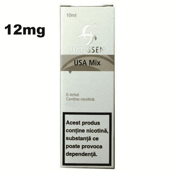 Lichid Tigara Electronica Hangsen USA MIX 12mg 10ml de pe e-potion.ro