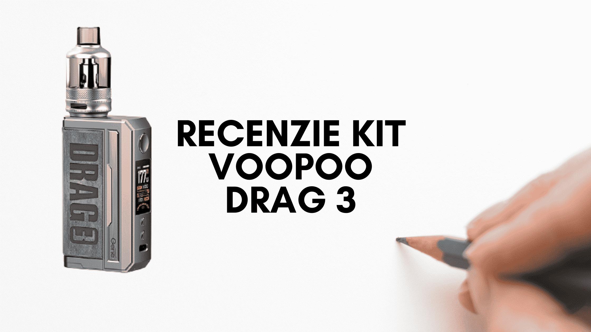 Recenzie Kit Voopoo DRAG 3 de pe e-potion.ro