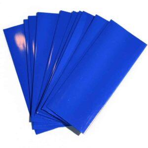 Wrap acumulatori 18650 Albastru