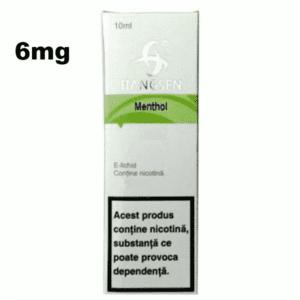 Lichid tigara electronica cu nicotina Hangsen MENTHOL 6mg 10ml