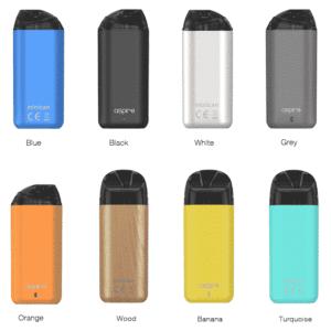 Pod Tigara electronica Aspire Minican color