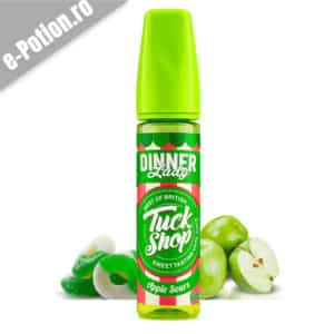 Lichid tigara electronica Dinner Lady Apple Sours 50ml