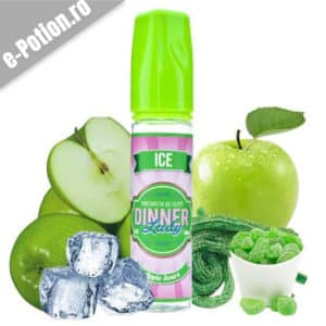 Lichid tigara electronica Dinner Lady Apple Sours Ice 50ml