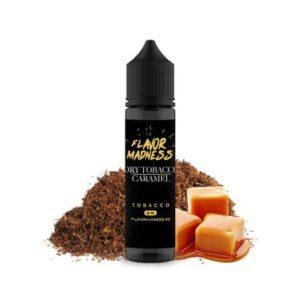 Lichid tigara electronica Flavor Madness Dry Tobacco Caramel 30ml